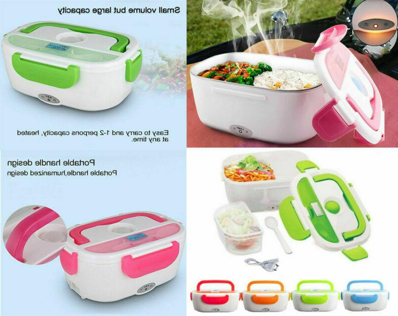 portable electric lunch heated compact bento box