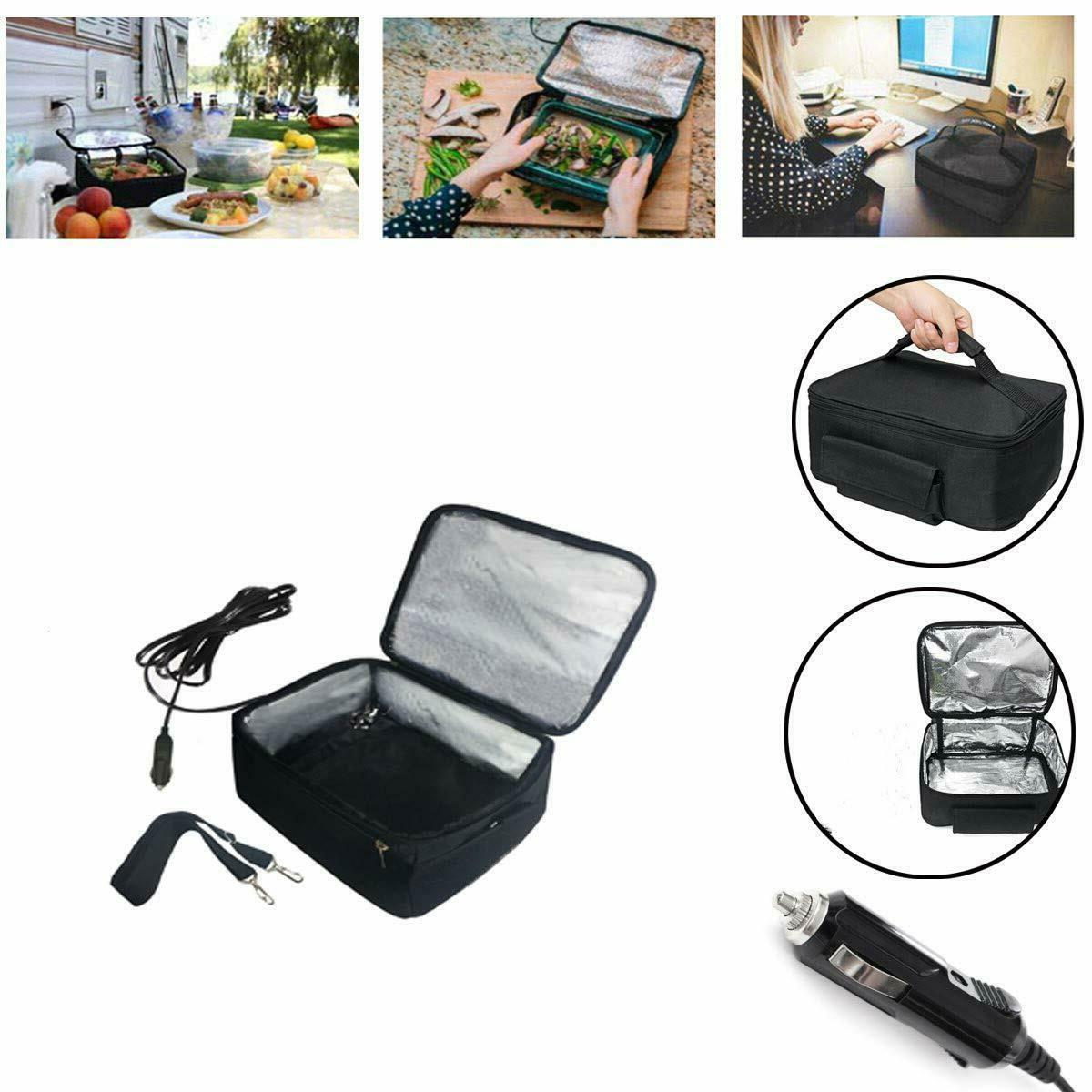 Portable Food Heater Lunch Oven Car Office