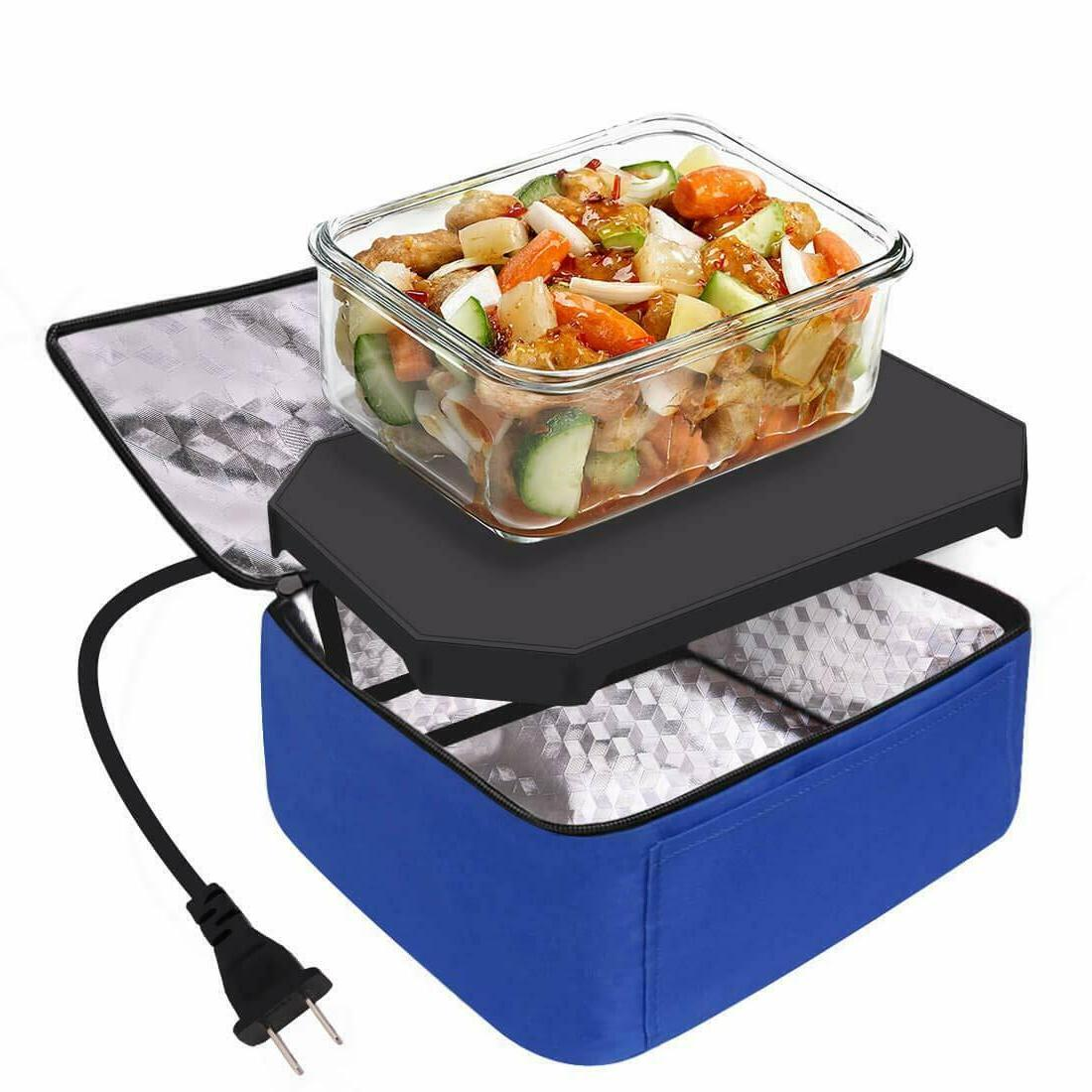 Portable Food Heater Lunch Box Oven 12V Office