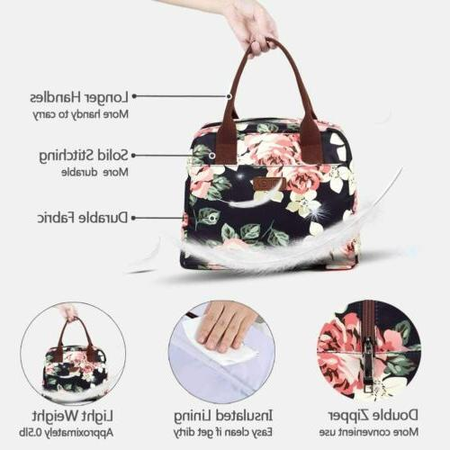 Portable Bag 7.5L Thermal Lunch Women Navy