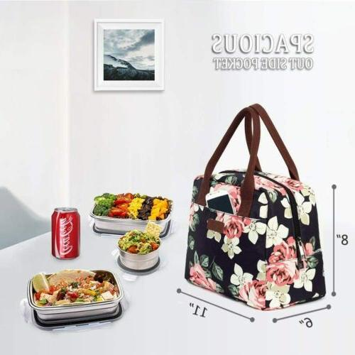 Portable Insulated Bag 7.5L Thermal Lunch Box Navy