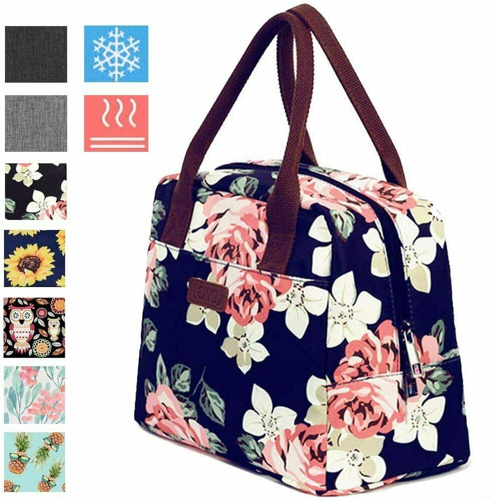 portable insulated lunch bags thermal cooler tote