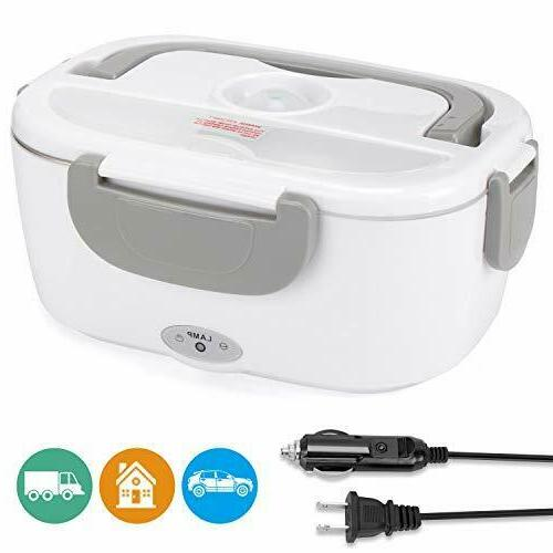 Portable Lunch Box 110 v Food Electric For Car Truck