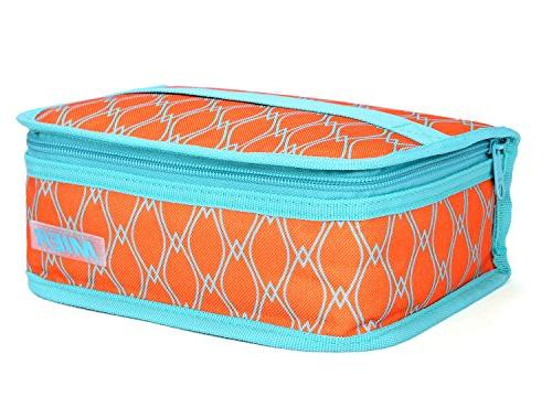 portable thermal insulated cooler bag