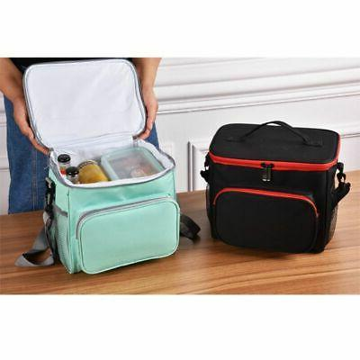 Thermal Lunch Portable Travel Lunch Box Tote