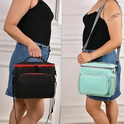 Portable Thermal Insulated Lunch Bag Travel Picnic Lunch Box