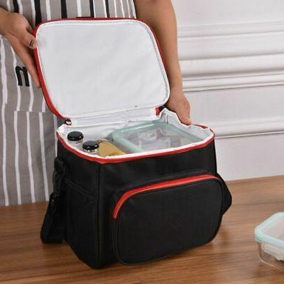 Insulated Box Women Cooler Tote Lunch Bag