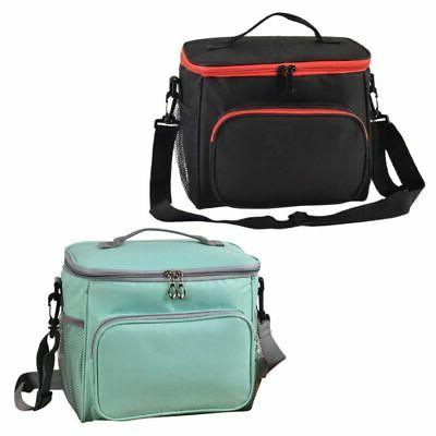 Insulated Lunch Bag Totes Cooler Picnic Bento Lunch Box Bag