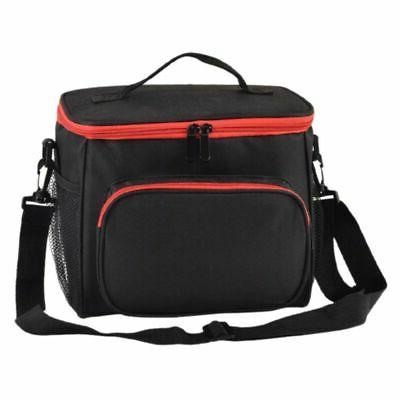 thermal insulated lunch bag portable travel picnic