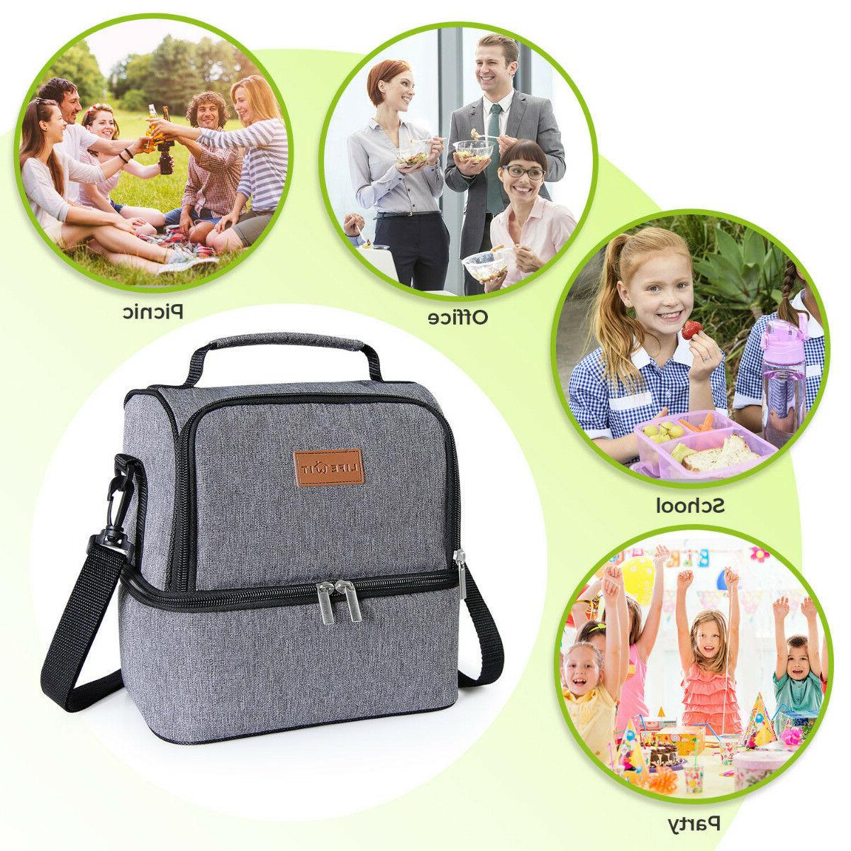 Bag Lunch Box Tote for Women