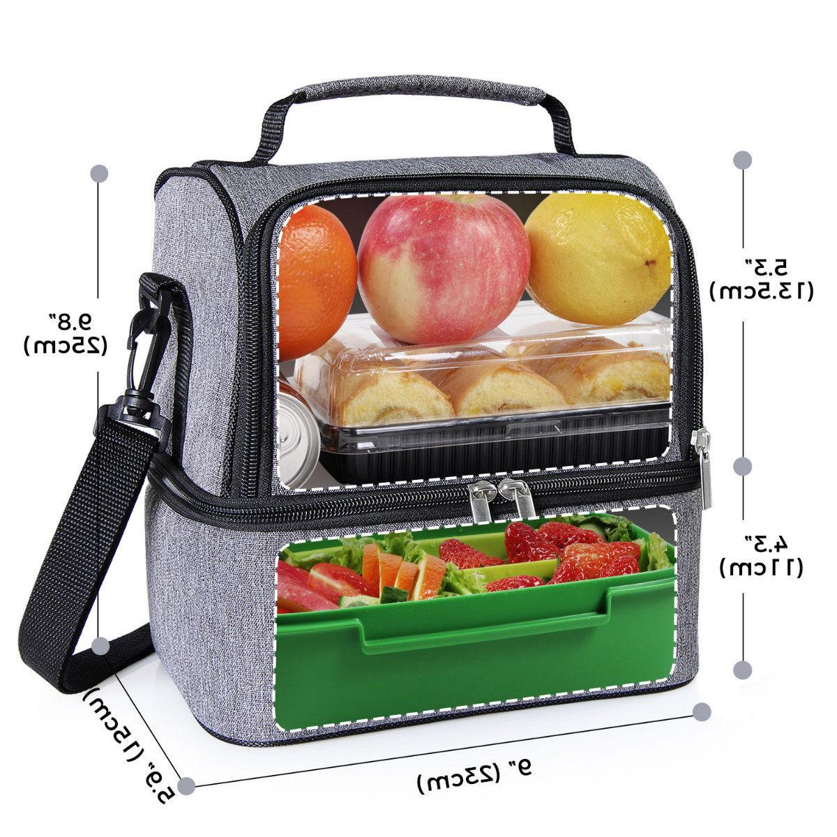 Portable Bag Lunch Box Men
