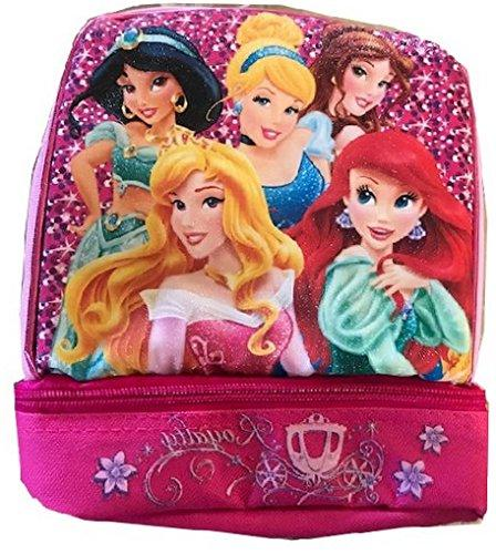 princess lunchbox dual compartment insulated