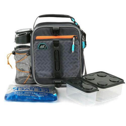 pro expandable lunch pack assorted colors