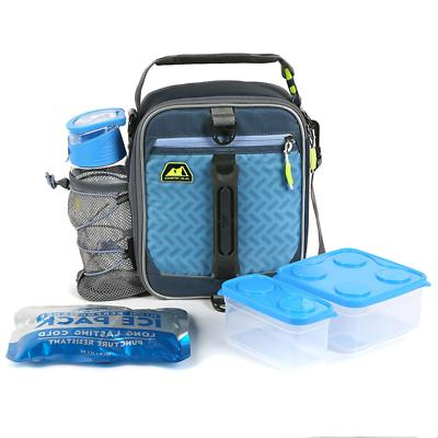 pro expandable lunch pack navy