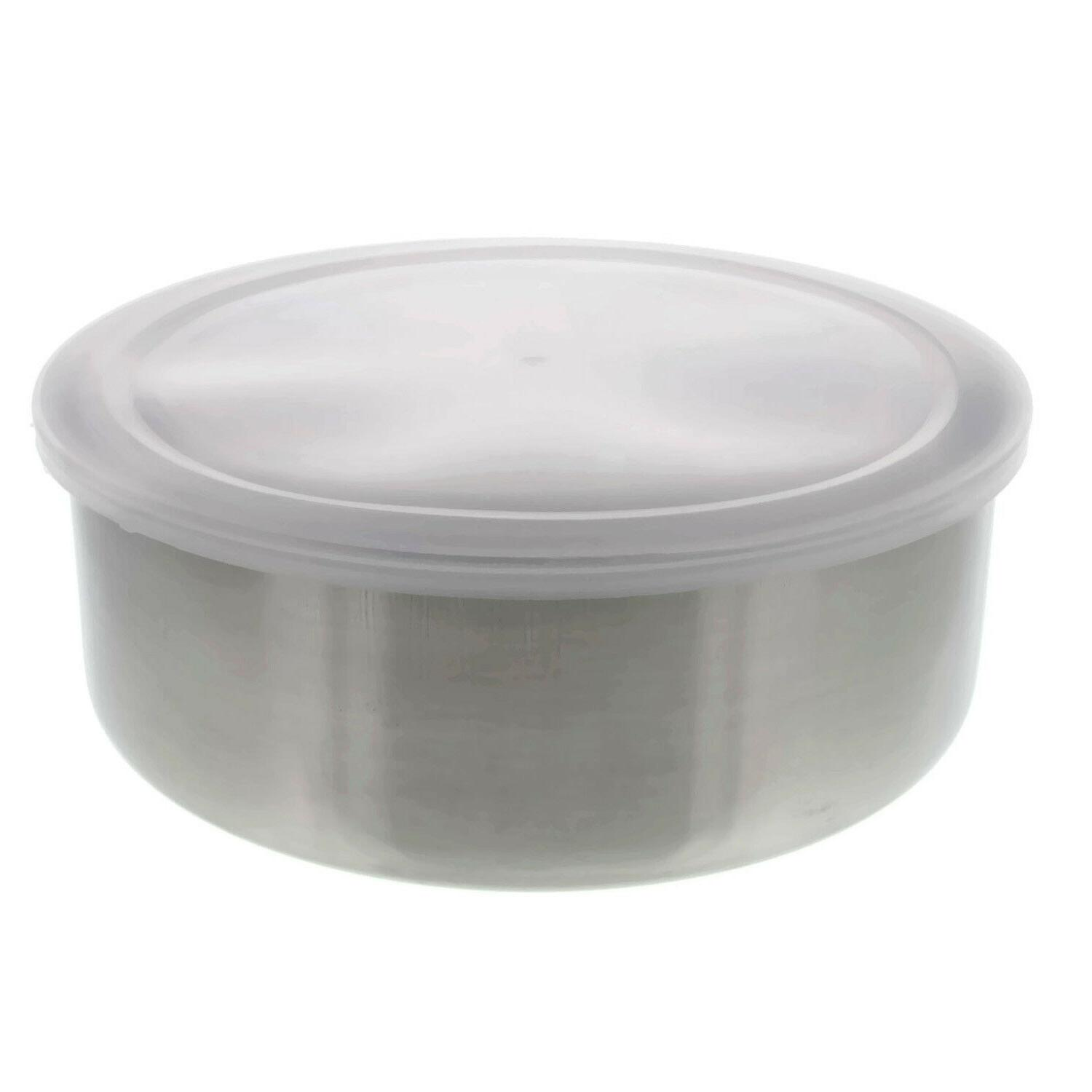 Set Stainless Steel Containers w/