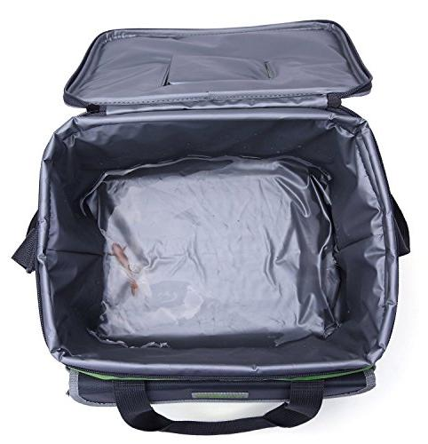 MIER Soft Bag Lunch Box Bag Picnic with Pockets