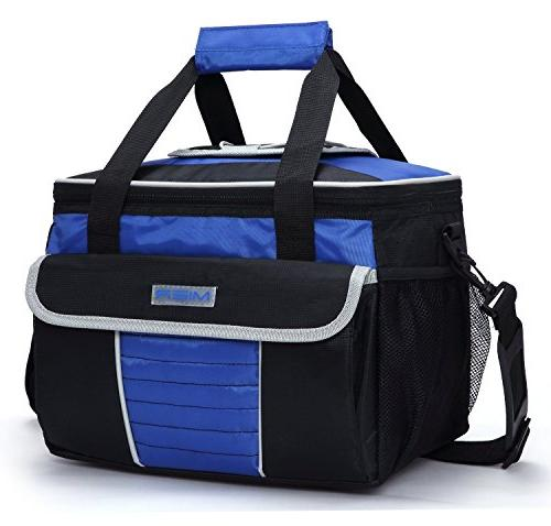 MIER Bag Insulated Lunch Bag Tote with Pockets