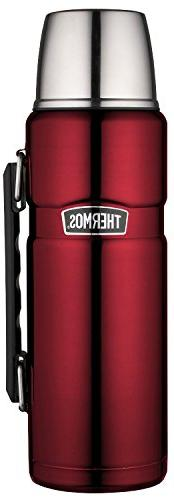 Stainless King Vacuum Insulated 1.2 L Cranberry Beverage Bot