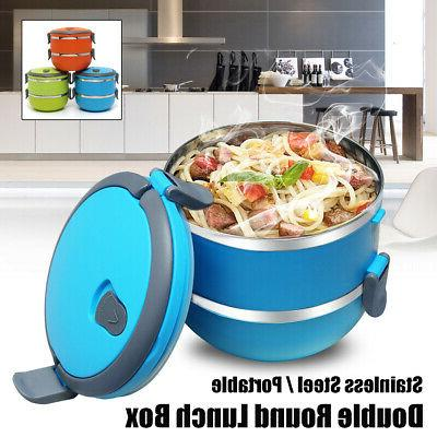 Stainless 2 Thermal Bento Food Container