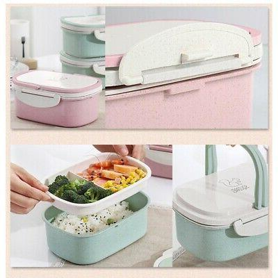 Stainless Thermal Insulated Lunch Box Bento Container