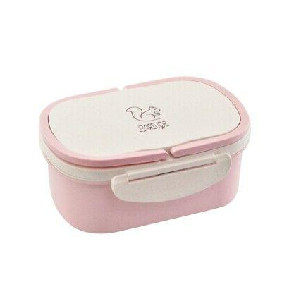 Stainless Steel Insulated Lunch Box Container Student