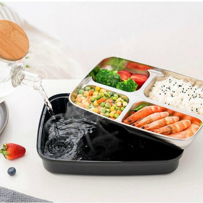 Stainless Steel Lunch Food Container for men