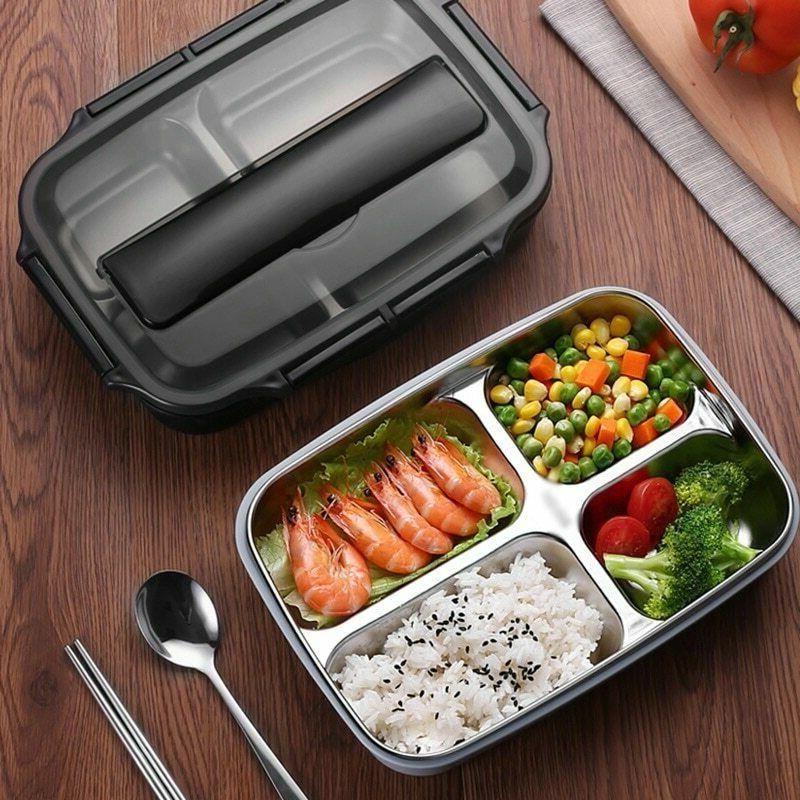 Stainless Steel Thermal Lunch Box Food for men