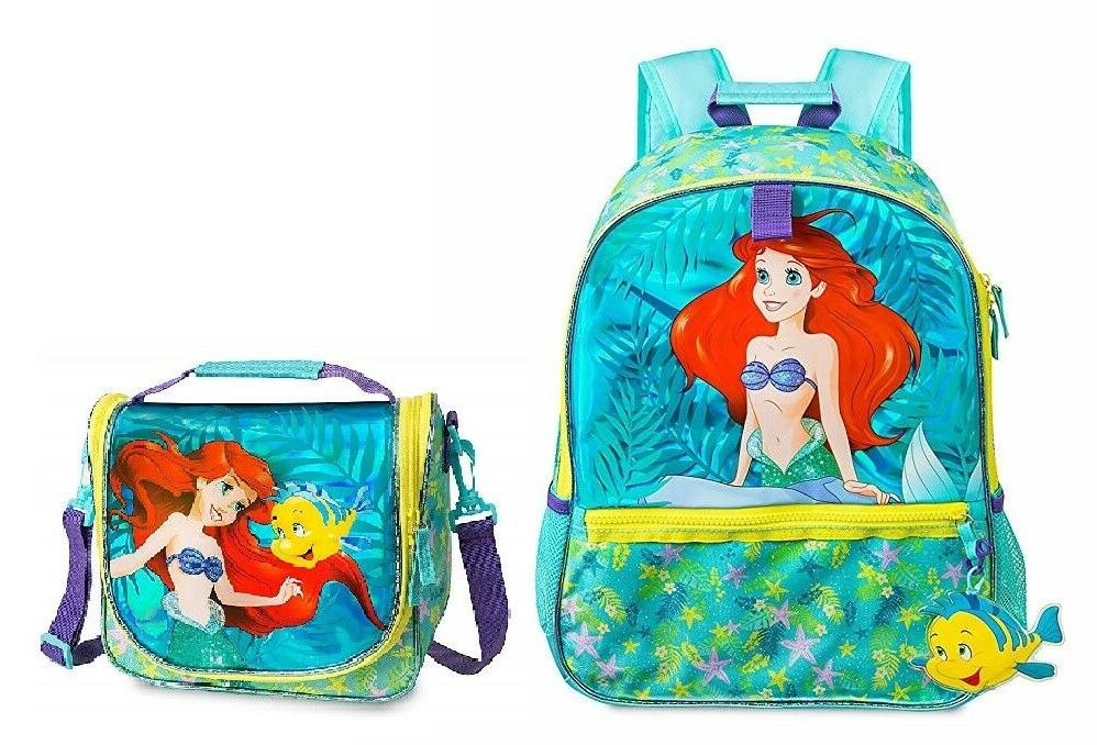 store princess backpack and lunch tote nwt
