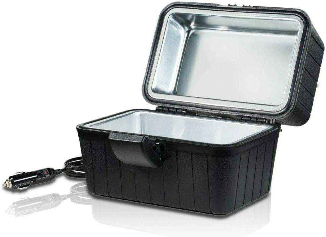Stove Oven Microwave Lunch Kit Camping Plug Black