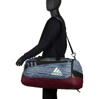 adidas Team Medium Duffle Colors Gym Duffel NEW