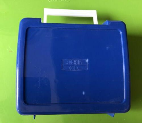 Teenage Vintage Thermos Lunch 1990 Blue