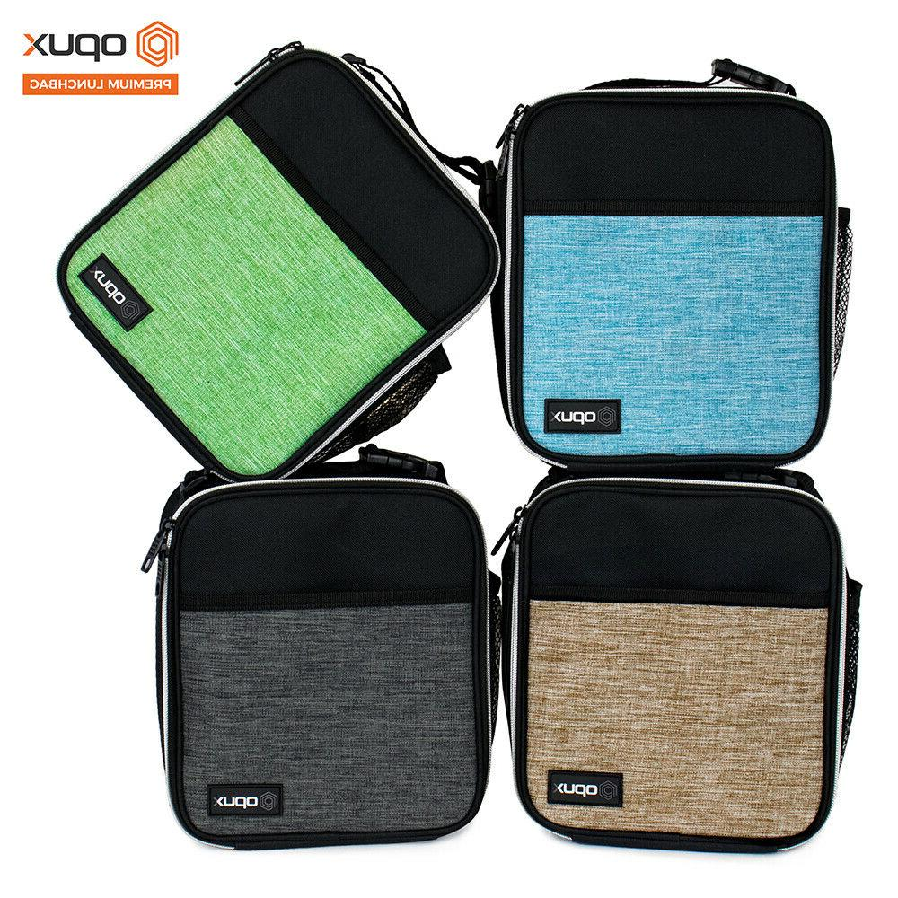 Insulated Lunch Bag Small Lunch Box For Work Office School Women Kids Black