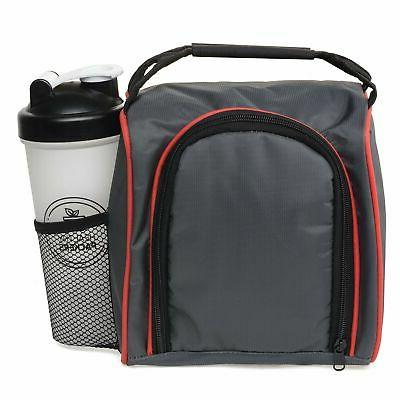Travel Storage Container Shaker Meal Work Gym