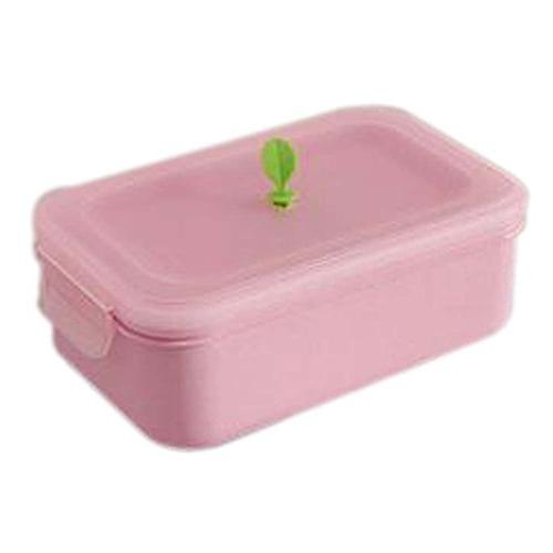 two layer plastic microwave lunch