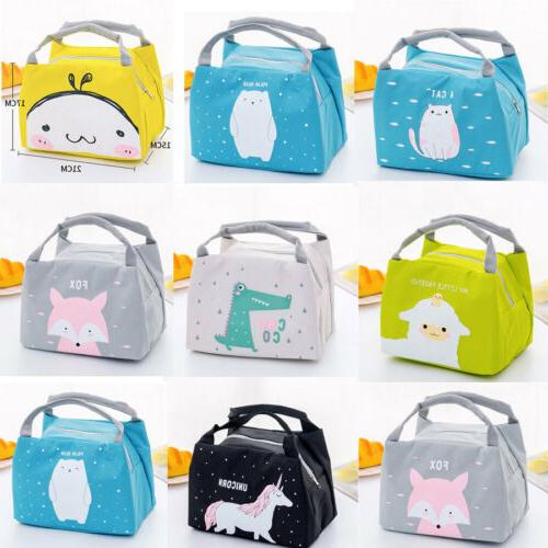 Unicorn Women Portable Bag Box Tote