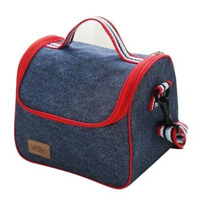 US Adult Lunch Box Cooler Tote Men Kids