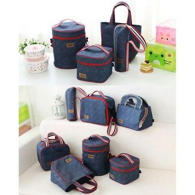 US Adult Lunch Box Cooler Tote for Men Women