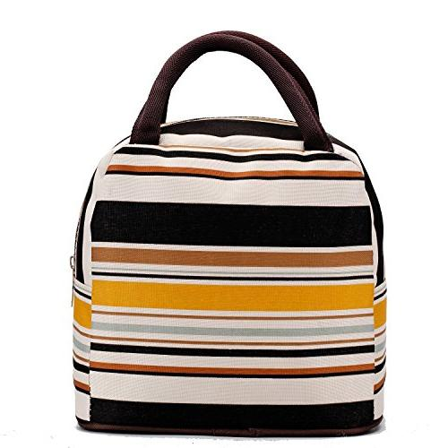 Fashion Lunch Bag For Girls Tote - Line