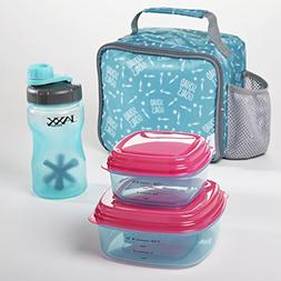 Fit & Fresh Logan Kids' Insulated Lunch Bag with Reusable Co