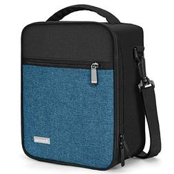 Lunch Bag with Firm Foil-BPA FREE,Amersun Reusable Insulated