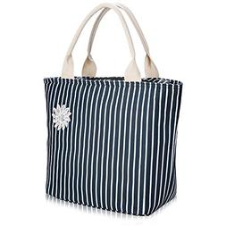 VARANO Insulated Lunch Bag Lunch Box for Women Reusable Lunc