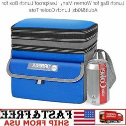 Lunch Bag For Women Men Leakproof Lunch Box For Adult&Kids,