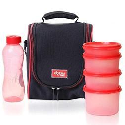 Milton LUNCH BAG ~ SET of 6 ~ Insulated Lunch Box With Reusa
