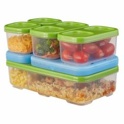Rubbermaid Lunch Blox Container Entree Kit Lunch Boxes, New