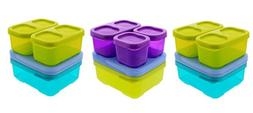 Rubbermaid Lunch Blox Sandwich Kits w/ Side and Snack Contai