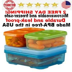 Rubbermaid Lunch box for Kids  Container Containers food adu
