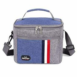 Lunch Box Insulated Lunch Bag Large Cooler Leakproof Lunchbo