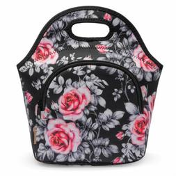 Lunch Box Insulated Lunch Bag Soft Neoprene Cooler Tote Bag