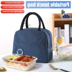 Lunch Box Insulated Lunch Bag with Front Pocket For Men Wome