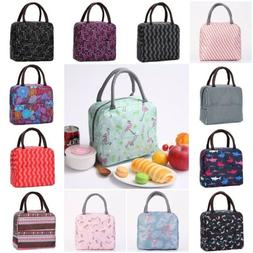 Lunch Box Insulated Lunch Bags for Women Girls Tote Bag Cute